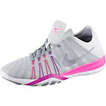 Nike Free TR 6 Fitnessschuhe Damen hellgrau/pink