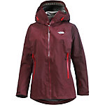 The North Face Point Five Hardshelljacke Damen weinrot