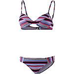 ESPRIT Flamengo Beach Bügelbikini Damen kirsche/blau/marine