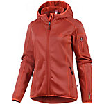 OCK Stretch Fleece Fleecejacke Damen dunkelrot