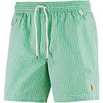 Polo Ralph Lauren Traveler Swim Badeshorts Herren grün/weiß