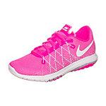 Nike Flex Fury 2 Laufschuhe Kinder pink / weiß