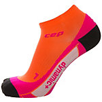 CEP Low Cut Laufsocken Damen orange / pink