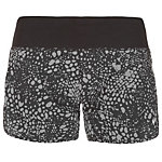 Nike Splatter Rival 4 Laufshorts Damen schwarz / grau