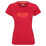 PUMA Run Laufshirt Damen pink / orange