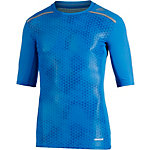 adidas Tech Fit Kompressionsshirt Herren blau