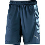 PUMA Knit Graphic Funktionsshorts Herren blau