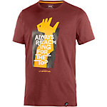 La Sportiva Reaching The Top Klettershirt Herren rost