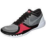 Nike Free Trainer 3.0 V4 Fitnessschuhe Herren schwarz / weiß / rot