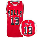 adidas Chicago Bulls Noah Swingman Basketball Trikot Herren rot / schwarz / weiß