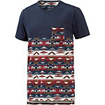 O'NEILL 37 Degrees North T-Shirt Herren blau/rot/beige