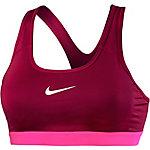 Nike Pro Classic Sport-BH Damen bordeaux/pink