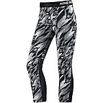 Nike Pro Dry Fit Tights Damen schwarz/grau