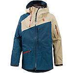 SCOTT Vertic 3L Snowboardjacke Herren blau/beige