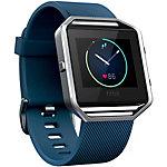 FitBit Blaze Fitness Tracker blau/silber