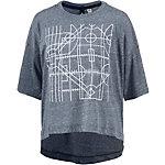 adidas Printshirt Damen navy