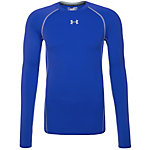 Under Armour HeatGear Armour Compression Kompressionsshirt Herren blau / grau