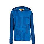 adidas Locker Room Brand Trainingsjacke Mädchen blau / silber