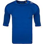 adidas TechFit Base Funktionsshirt Herren blau / grau