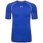 Under Armour HeatGear Armour Compression Funktionsshirt Herren blau / grau