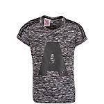 adidas Wardrobe Funktionsshirt Kinder grau / schwarz