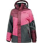 WLD Limelight Love Snowboardjacke Damen weinrot/pink/grau