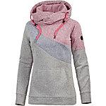 WLD Winter Cheriemoya Strickfleece Damen grau/blau/rot