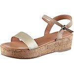 Marc O'Polo Sandalen Damen gold/taupe