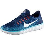 Nike Free RN Distance Laufschuhe Damen blau