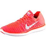 Nike Free RN Flyknit Laufschuhe Damen neonorange