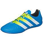 adidas ACE 16.3 Fußballschuhe Herren blau / lime / weiß