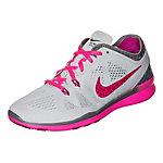 Nike Free 5.0 TR Fit 5 Fitnessschuhe Damen hellgrau / pink
