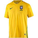 Nike Brasilien Heim Fußballtrikot Herren gelb/grün
