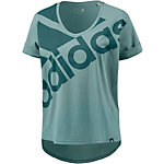 adidas T-Shirt Damen mint/grün