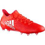 adidas X 16.1 FG Fußballschuhe Herren rot/silber