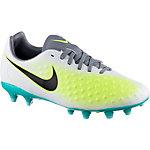 Nike JR MAGISTA OPUS II FG Fußballschuhe Kinder grau/grün