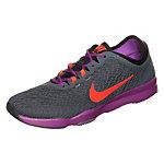 Nike Zoom Fit Fitnessschuhe Damen grau / lila / rot
