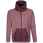 Under Armour ColdGear Infrared Survivor Hybrid Trainingsjacke Damen dunkelrot