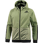 adidas Workout Funktionsjacke Herren oliv