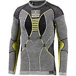 X-Bionic FastFlow Funktionsshirt Herren schwarz/grau/gelb
