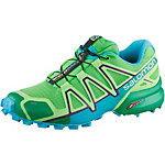 Salomon SPEEDCROSS 4 CS Laufschuhe Damen grün/hellblau