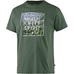 Alprausch Alpspirit Printshirt Herren dunkel grün