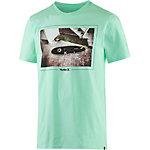 Hurley Happiness Printshirt Herren mint