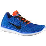 Nike Free RN Flyknit Laufschuhe Herren blau