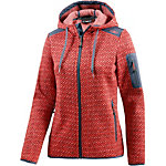 CMP Fleecejacke Damen orange/rot