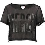Reebok T-Shirt Damen schwarz