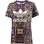 adidas Printshirt Damen bunt