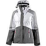 ICEPEAK Katia Skijacke Damen grau/weiß
