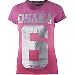 Superdry Printshirt Damen pink