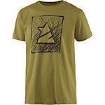 Zimtstern TSM Scribbler Printshirt Herren oliv